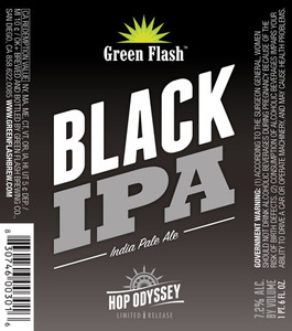 Green Flash Brewing Company Black IPA
