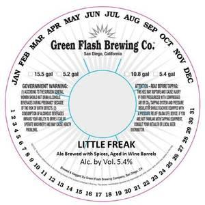 Green Flash Brewing Company Little Freak