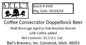 Bell's Coffee Consecrator Doppelbock Beer