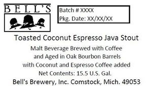 Bell's Toasted Coconut Espresso Java Stout