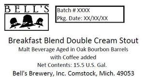 Bell's Breakfast Blend Double Cream Stout