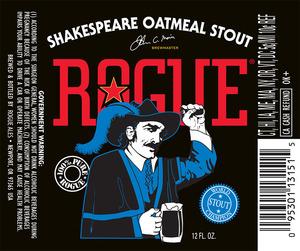 Rogue Shakespeare Oatmeal