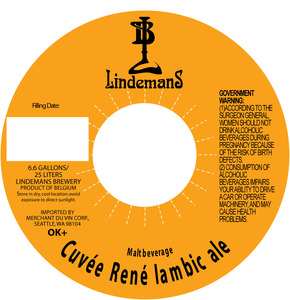 Lindemans Cuvee Rene