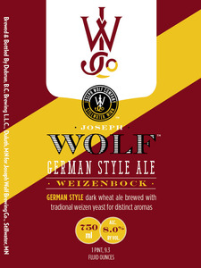 Joseph Wolf Brewing Co. Weizenbock