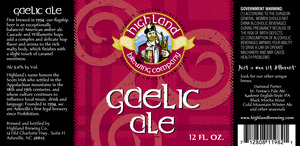 Highland Brewing Co Gaelic