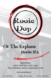 Rooie Dop Ot The Explorer