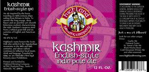 Highland Brewing Co Kashmir