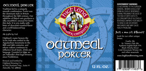 Highland Brewing Co Oatmeal