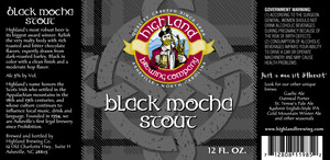 Highland Brewing Co Black Mocha