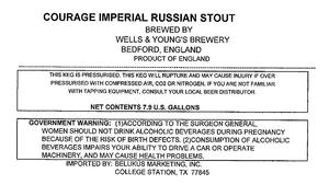 Wells & Young's Brewery Courage Imperial