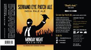 Serrano Eye Patch Ale India Pale Ale