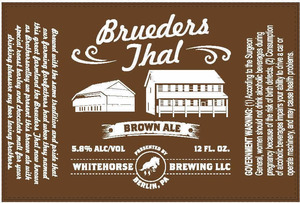 Whitehorse Brewing Brueders Thal