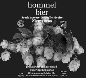 Hommel Bier Fresh Harvest