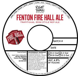 Right Brain Brewery Fenton Fire Hall