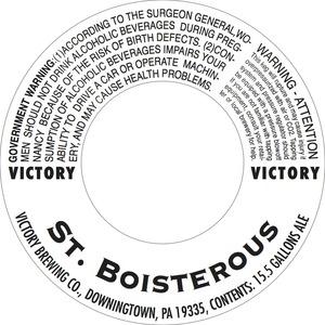 Victory St. Boisterous