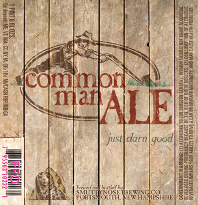 Smuttynose Brewing Co. Common Man Ale