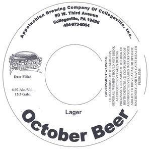 Appalachian Brewing Co October