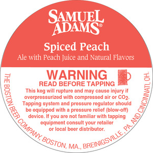 Samuel Adams Spiced Peach