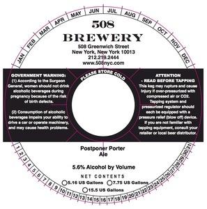 508 Brewery Postponer
