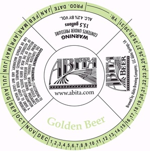 Abita Golden Beer