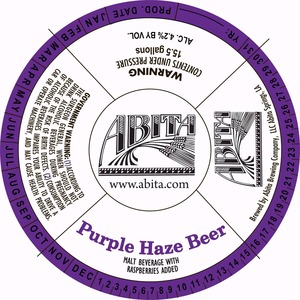 Abita Purple Haze Beer