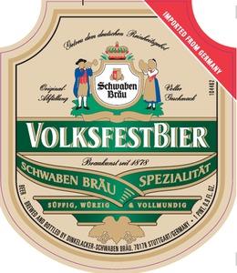 Schwaben Brau Volksfest Bier