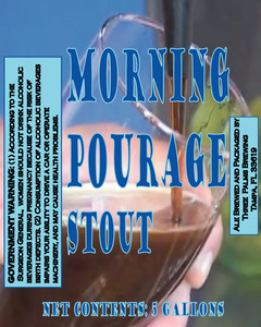 Three Palms Brewing Morning Pourage