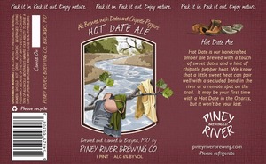 Piney River Brewing Co. LLC Hot Date