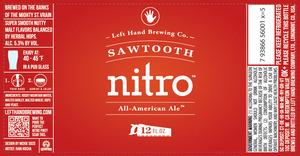 Left Hand Brewing Company Sawtooth Nitro