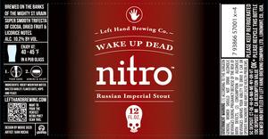 Left Hand Brewing Company Wake Up Dead Nitro