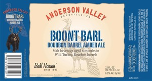 Anderson Valley Brewing Company Boont Barl