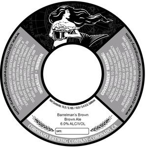 Coronado Brewing Company Barrelman's Brown