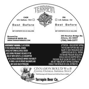 Terrapin Cinnamon Roll'd W-n-b