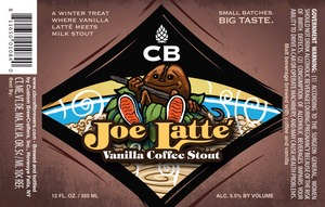 Cb Joe Latte Vanilla Coffee Stout