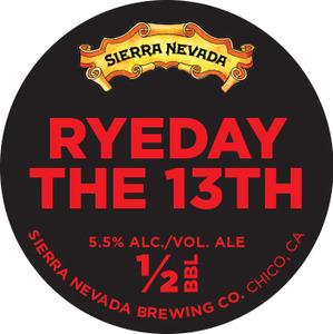 Sierra Nevada Ryeday The 13th