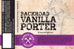 Klamath Basin Brewing Co. Backroad Vanilla