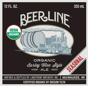 Lakefront Brewery Beer Line Barley Wine Style