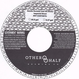 Other Half Brewing Co. Smoke Screens And Oil Slicks