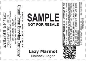 Grand Teton Brewing Company Lazy Marmot