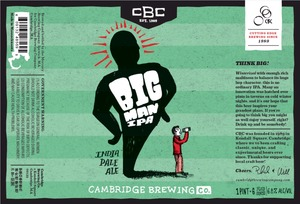 Cambridge Brewing Company Big Man