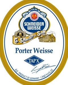 Schneider Weisse Porter Weisse