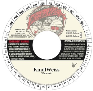Witch's Hat Brewing Company Kindlweiss
