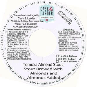 Cask & Larder Tomoka Almond Stout