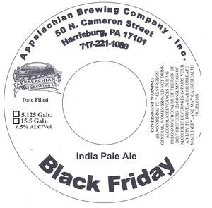 Appalachian Brewing Co Black Friday