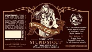 Coronado Brewing Company Stupid Stout