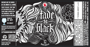 Left Hand Brewing Company Fade To Black