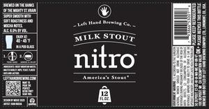 Left Hand Brewing Company Milk Stout Nitro