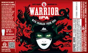 Left Hand Brewing Company Warrior