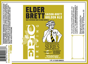 Epic Brewing Company Elder Brett