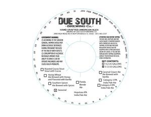 Due South Brewing Co Hopoluxo IPA